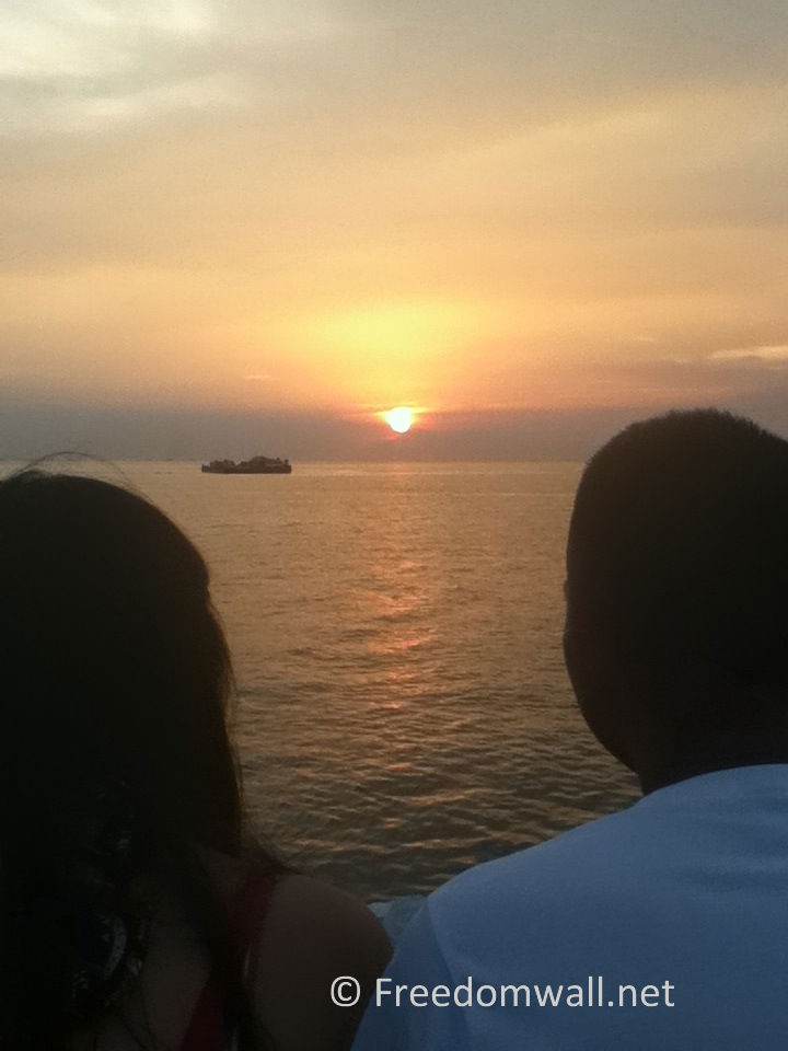 Lovers by the Sunset