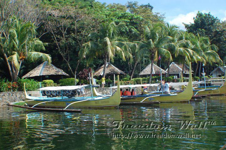 taal lake boats