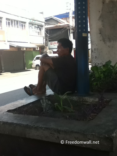 Lonely Man in Taft Avenue