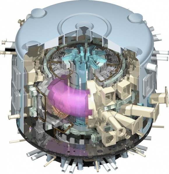iter tokamak nuclear fusion reactor