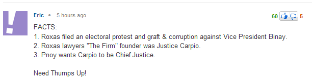 FACTS OF CJ CORONA'S IMPEACHMENT