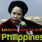 Lectures! More Fun in the Philippines