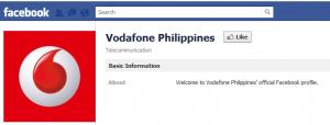 Vodafone Philippines Facebook