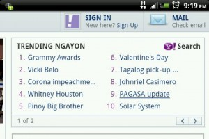 Yahoo! Philippines Trending