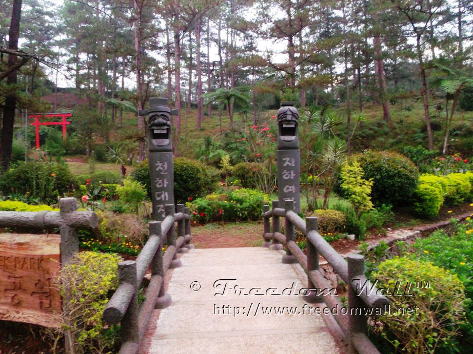 GE X500 Sample Image or Photo - The Baguio Botanical Garden