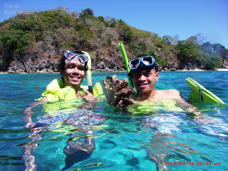 Bulog Island big catch Coron