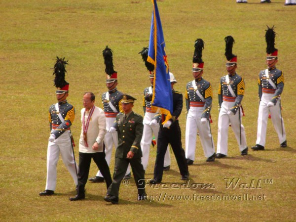 President Aquino at PMA Graduation 2012