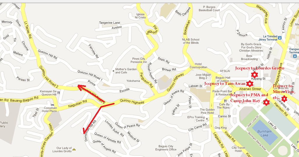 How to Commute in Baguio  Freedom Wall