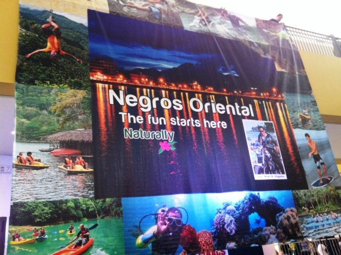 negros oriental tourism campaign banner