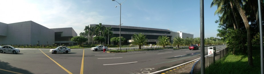GE X500 Panorama Mode of The Philippine International Convention Center