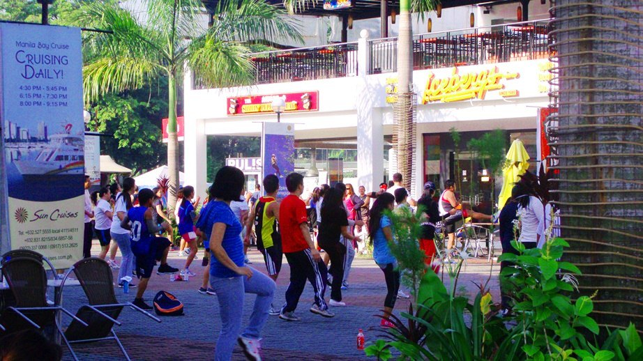 A Morning Dance at Harbour Square