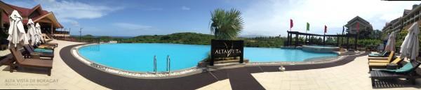 Alta Vista de Boracay Poolside panorama
