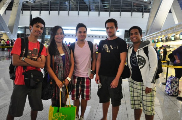 While Waiting at NAIA 3