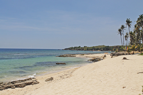 cabongaoan beach in burgos, pangasinan