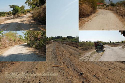road to tambobong and cabongaoan