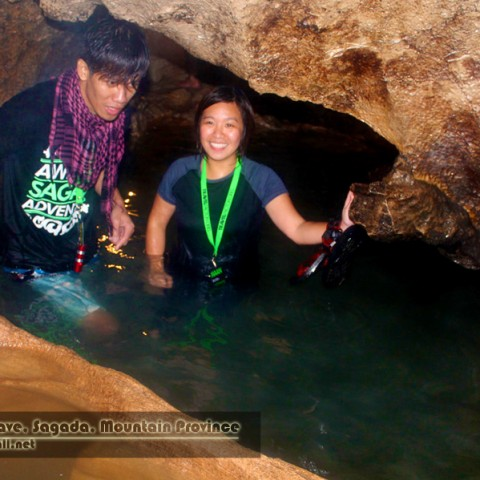 Arnel and Maan at Sumaguing Cave