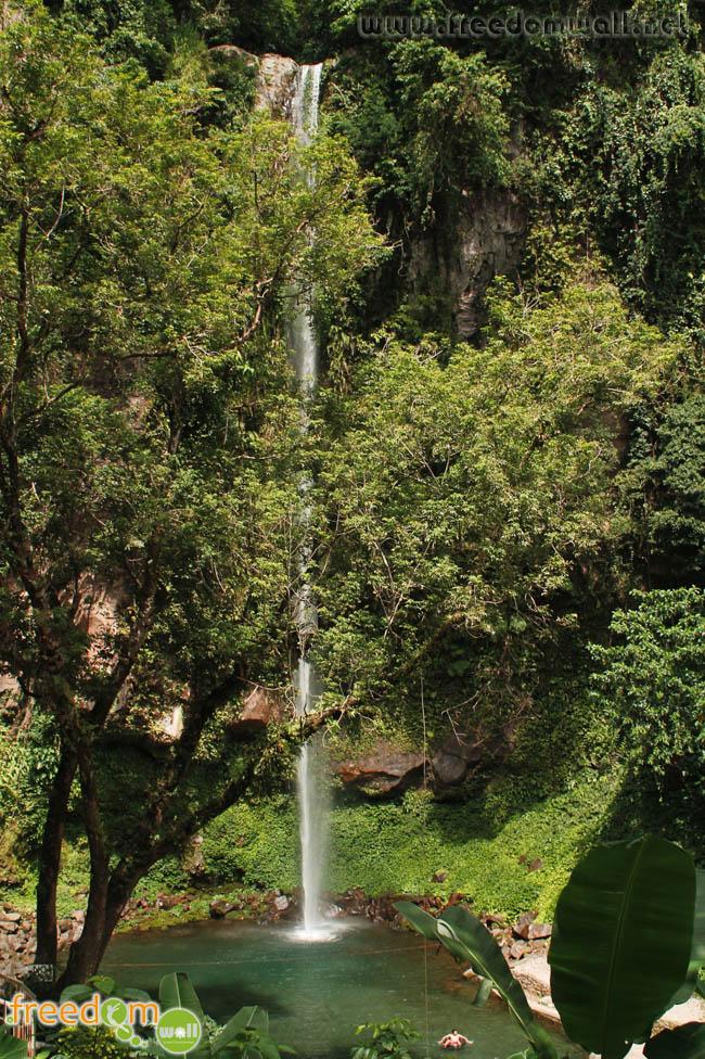 Katibawasan Falls in Mambajao. Camiguin