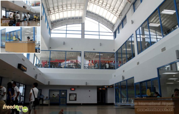 Laguindingan Airport Arrival Area