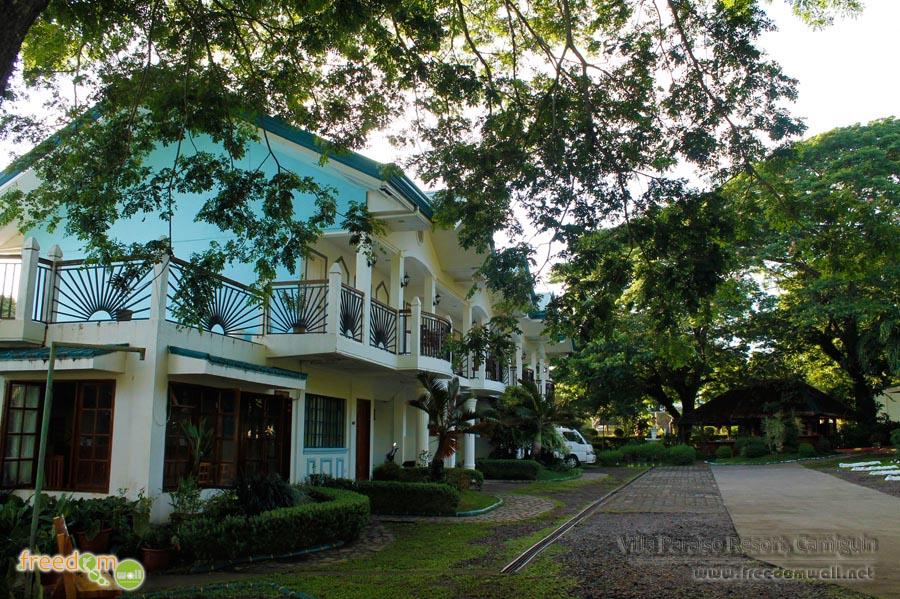 Facade of Villa Paraiso