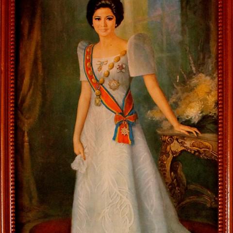Imelda Marcos Portrait