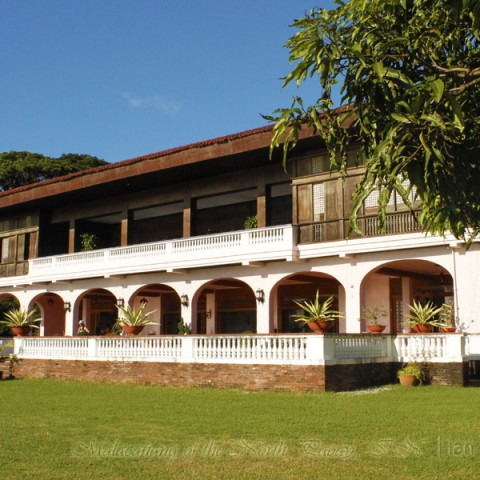 Malacanang of the North Paoay lake wing