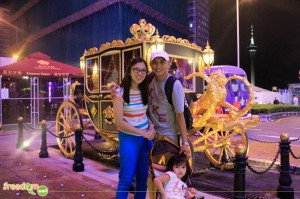 The fisrt family at the Emperor Palace's carriage