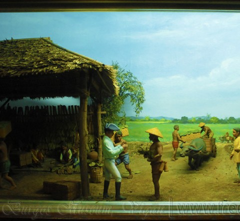 diorama of the ilocos workers