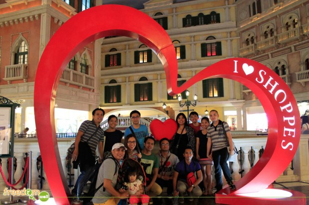 Group pic at the Venetian Macau