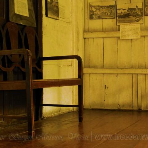 inside father burgos museum level 2