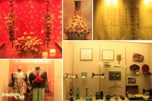 Traditional wedding dress, Ceremony stuffs and other Chinese artifacts