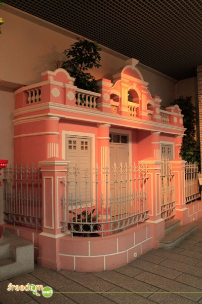 Western Influenced-Pink House