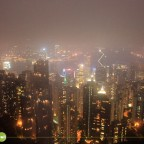 Hong Kong Skyline (This is the clearest shot I got of the city)