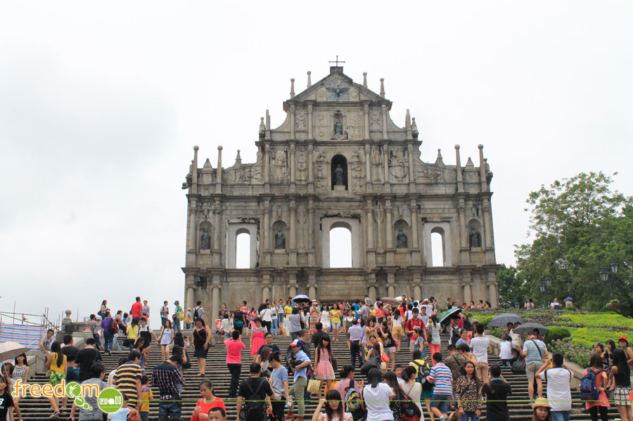 The Ruins of Saint Paul Macau