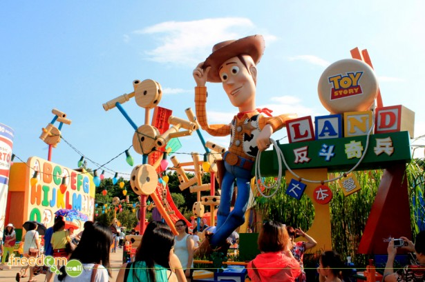 Toy Story Land, Hong Kong Disneyland