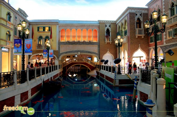 The Grand Canal of the Venetian Macau