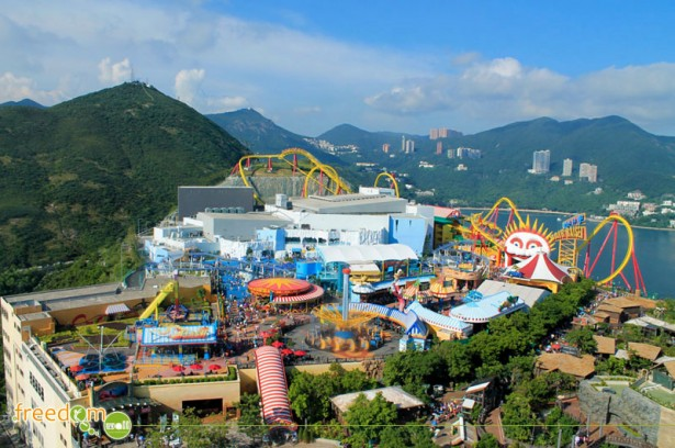 "Ocean Park Hong Kong's ""The Summit"""