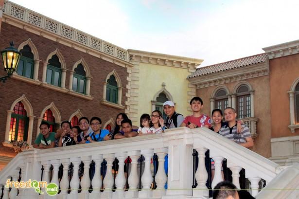 The Team at Venetian Macau