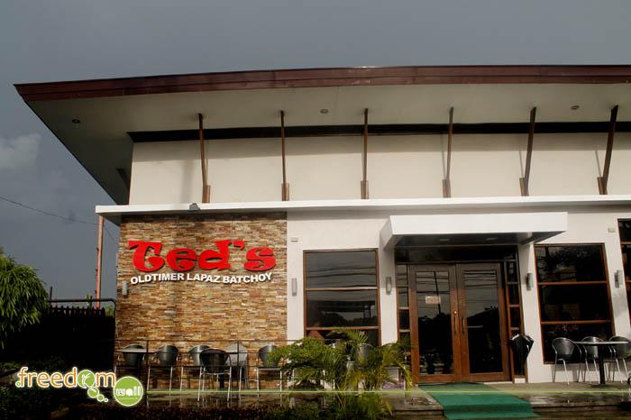 Ted's OldTimer LaPaz Batchoy Shop along Benigno Aquino Ave.