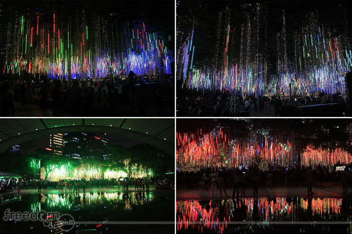 Ayala Triangle Christmas Light Show