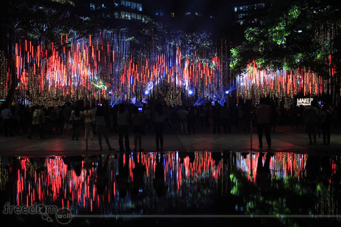 Ayala Triangle Lights and Sounds Show