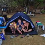 Rainy and Windy Camp in Banana Island Coron: A Throwback Post