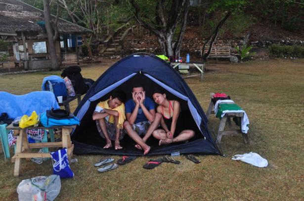 Banana Island Campers