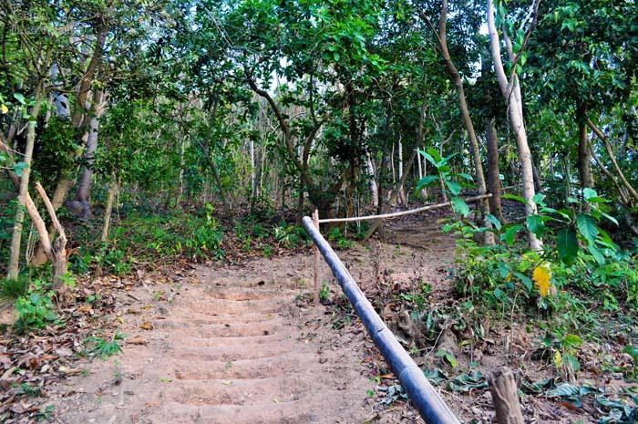 Trekking Trail to the Island's Viewdeck