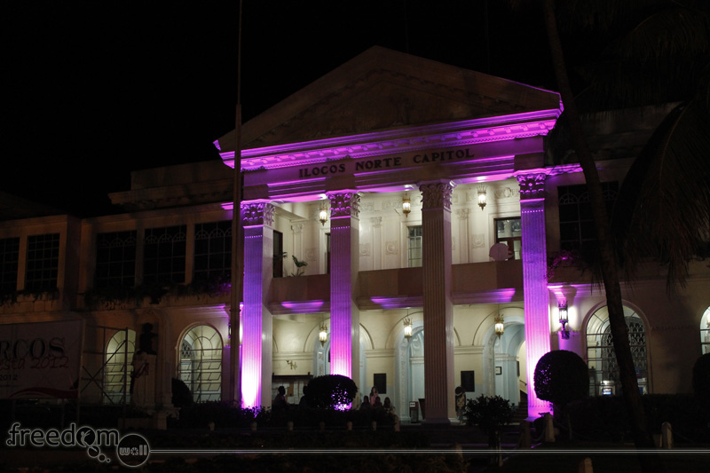 Facade of Ilocos Norte Provincial Capitol