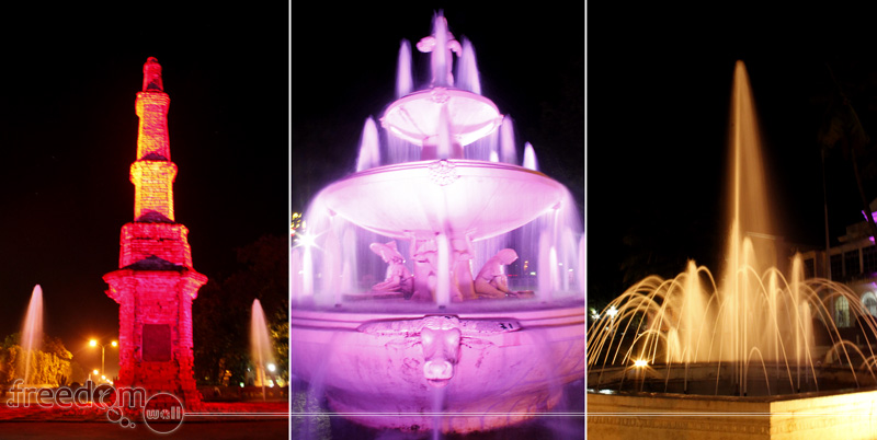 Laoag Fountains