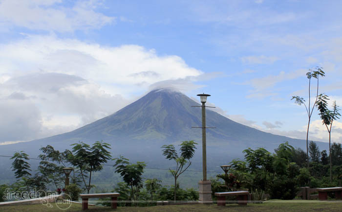 Mount Mayon as viewed from Lignon Hill