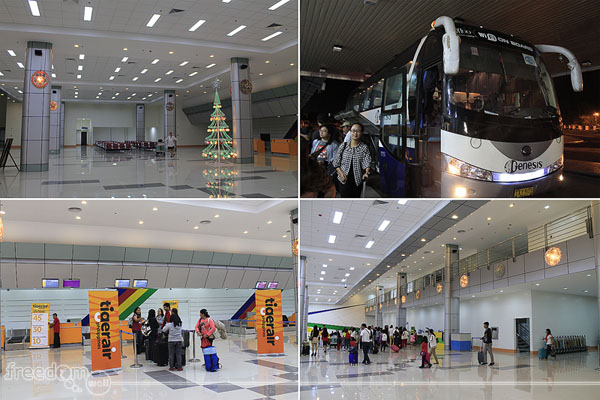 The newly renovated Clark International Airport