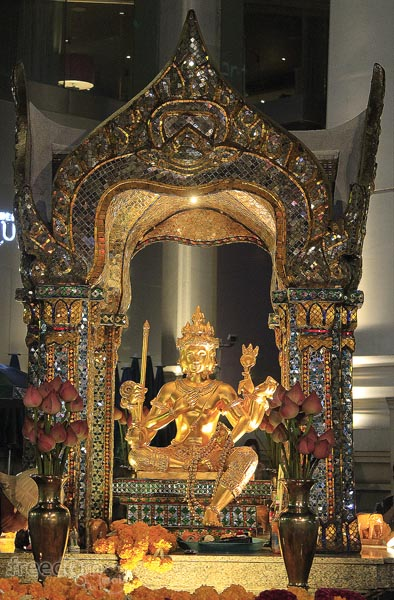 The four-faced Image of Brahma