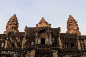 The Angkor Wat - upclose