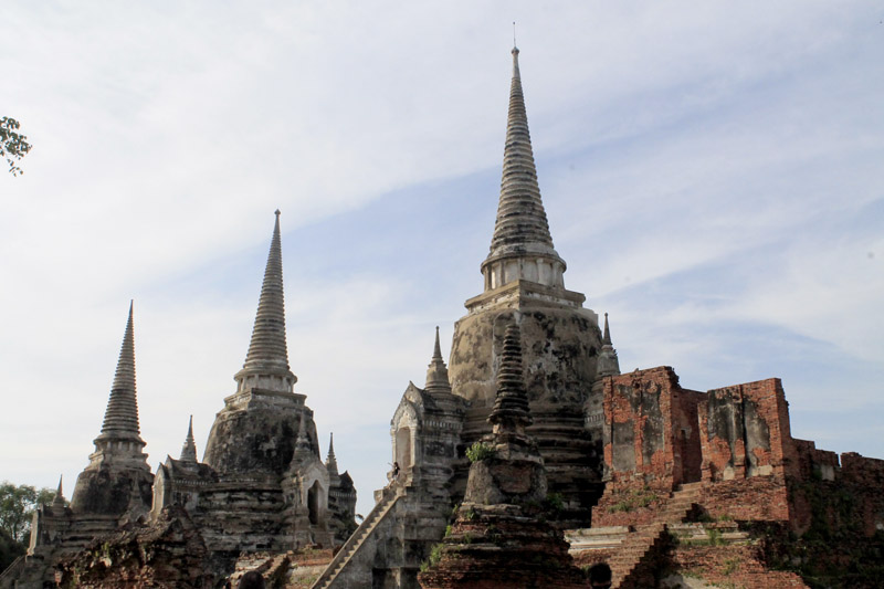 Ayutthaya pagodas